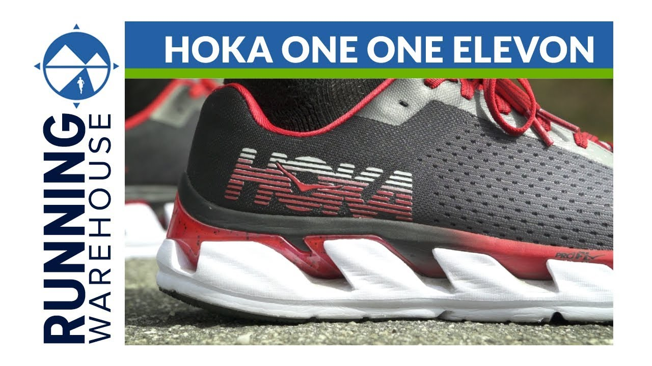 HOKA ONE ONE Elevon Shoe Review - YouTube d7599b9e8f3