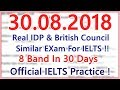 IELTS LISTENING PRACTICE TEST WITH ANSWERS | 30.08.2018 | BEST TEST
