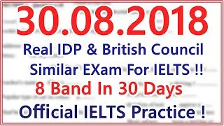 IELTS LISTENING PRACTICE TEST WITH ANSWERS  30.08.2018  BEST TEST