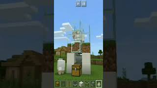 How To Build Automatic Wool Farm In Minecraft? || #shorts || Automatic Sheep Farm In Minecraft
