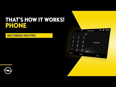 Multimedia Navi Pro - Combo - Zafira Life - Vivaro    Phone   That's  How It Works!