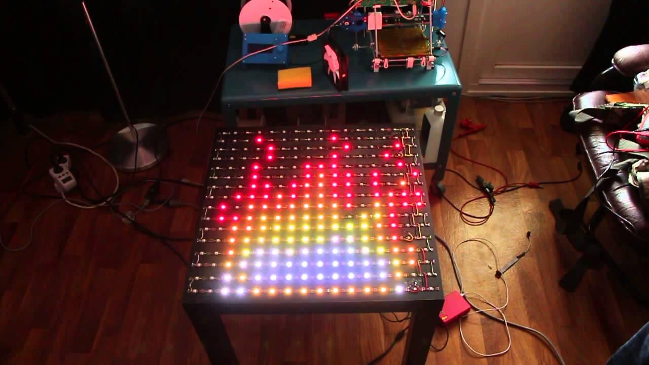 Ws2812b Arduino Lenoardo Raspberry Pi Gif Youtube