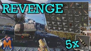 BRADLEY DOWN, TURRET COUNTER RAID & REVENGE RAID! - Rust Vanilla+ Duo/trio survival game play - Ep 3