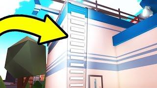SECRET INVISIBLE LADDER IN JAILBREAK GEFUNDEN! | Roblox
