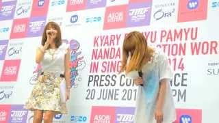 Kyary Pamyu Pamyu KPP Nanda Collection World Tour 2014 in Singapore - Press Conference 04