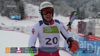 Men's Giant Slalom Standing | Run 1 |
