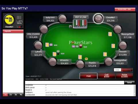 Poker Online Strategie