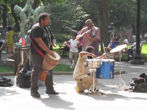 Rittenhouse Square street performers