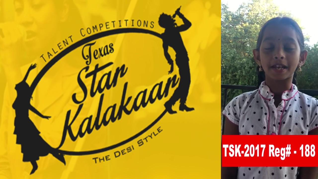 Reg# TSK2017P188 - Texas Star Kalakaar 2017
