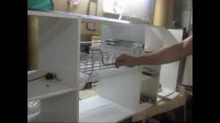 видео КАК УСТАНОВИТЬ СУШКУ ДЛЯ ПОСУДЫ В ШКАФ: Сушилки и кухонные шкафы для хранения и высушивания посуды