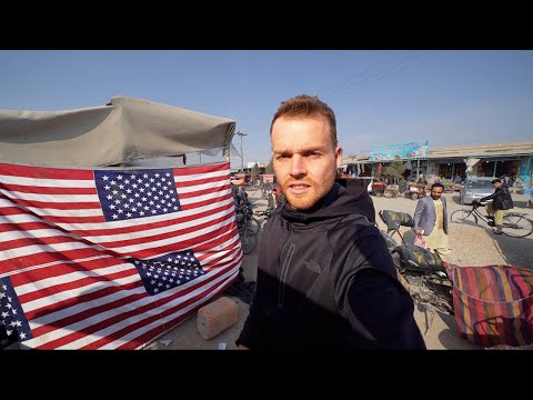 SIGNS OF U.S.A. ON STREETS OF AFGHANISTAN (Not Safe)