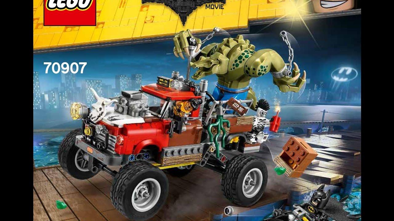 LEGO Batman Movie Killer Croc Tail-Gator 70907 ...