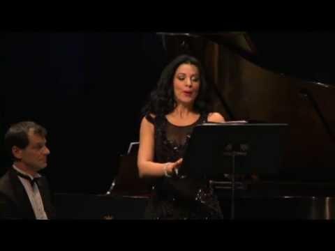 Angela Gheorghiu - Enescu: Languir me fais - recital in Los Angeles, March 2013
