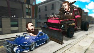 Who Can Build The Most DANGEROUS CAR?! | GTA5
