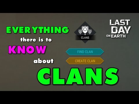 How to Join or Create a Clan in Last Day on Earth Update 1.9.7 LDOE
