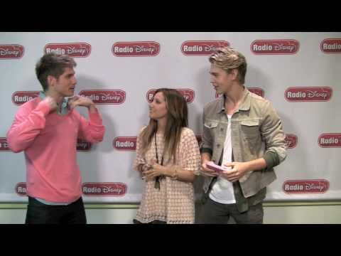 Ashley Tisdale & Austin Butler  Sharpay's World  Radio Disney's Celebrity Take with Jake
