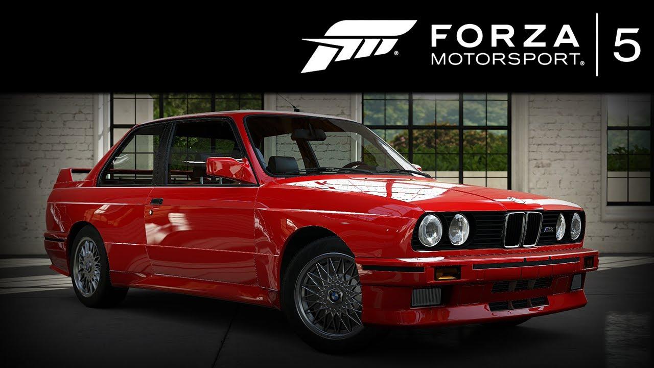 Forza 5 Bmw E30 M3 1991 Forzavista 1 Lap Youtube