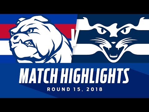 Western Bulldogs v Geelong Highlights | Round 15, 2018 | AFL| AFL