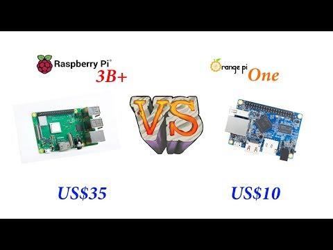 Battle Of Pi´s 2019 - Raspberry Pi 3B Plus  VS  OrangePi One