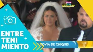 Chiquis Rivera: Primeras imágenes del vestido de novia   Un Nuevo Día   Telemundo