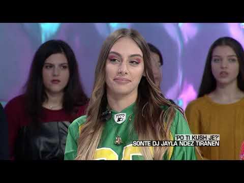 Zone e lire - 'Po ti kush je?' Dj Jayla artistja shqiptaro-greke ndez Tiranen! (08 dhjetor 2017)