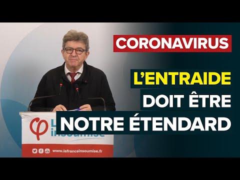 CORONAVIRUS: L'entraide doit être notre étendard