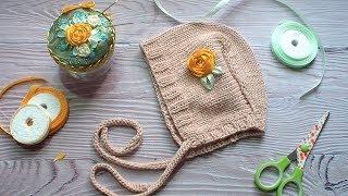 МК Вышивка на детских вязаных вещах // мягко и удобно для малыша // мастер-класс