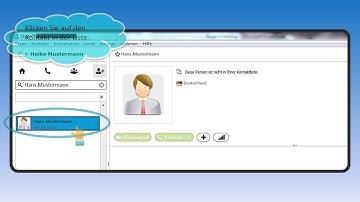 NEU! Skype eine Anleitung - Teil 3 - Kontakt hinzufügen