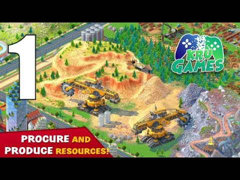 Global City: Build your own world. Building Game Gameplay Walkthrough #1 (Android, IOS)