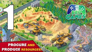 Global City: Build y๐ur own world. Building Game Gameplay Walkthrough #1 (Android, IOS)