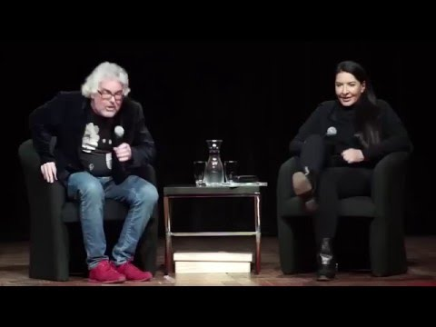 Marina Abramović and David Walsh in Conversation