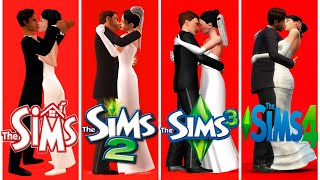 ♦ Sims 1 vs Sims 2 vs Sims 3 vs Sims 4 : Marriage