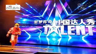 Genting Dream Cruise Ship China Got Talent Monkey King Acrobatics