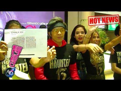 Hot News! Masyarakat Bandung Sambut Antusias Film The Haunted 13 - Cumicam 22 Juli 2018
