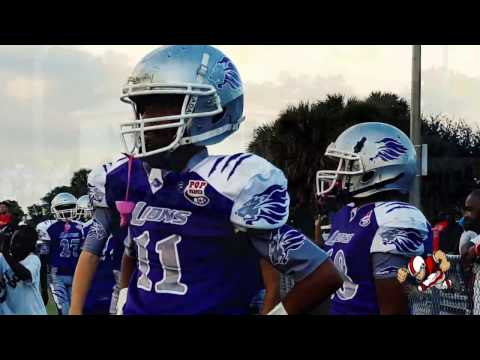 Pop Warner jv  Riviera Beach Chargers (FL) vs Fort Myers Fellowship Lions (FL) Sub Regional Final
