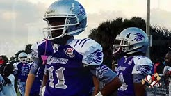Pop Warner jv  Riviera Beach Chargers (FL) vs Fort Myers Fellowship Lions (FL) Sub Regional Final