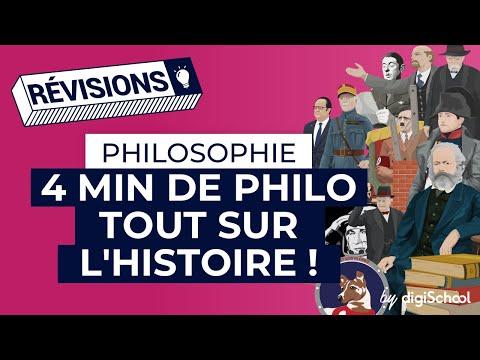 L'Histoire (fiche de révision) | Bac de Philosophie - Terminale
