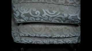 Pair Of Very Fine Australian Made Wing Back Arm Chairs By East Style