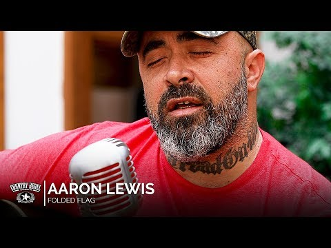 Aaron Lewis  Folded Flag Acoustic  Country Rebel HQ Session