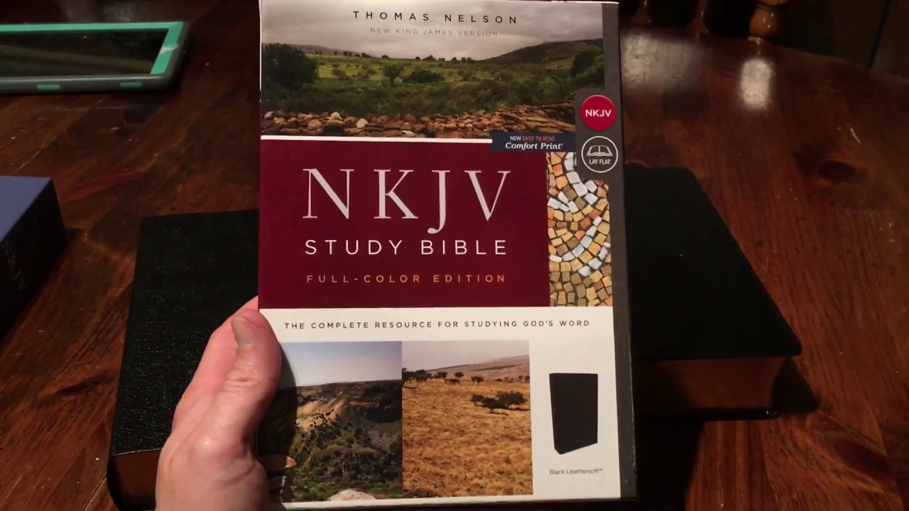 NKJV Study Bible 2nd and 3rd Editions comparison