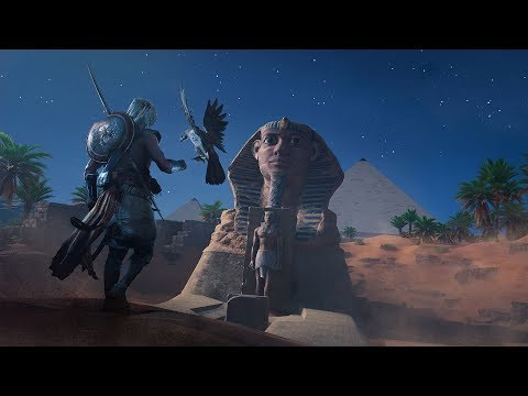 Assassin's Creed Origins - The Great Sphinx of Giza -How To get Isu Armor Outfit