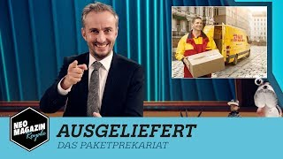 Ausgeliefert - The Delivery Precarity | NEO MAGAZIN ROYALE with Jan Böhmermann - ZDFneo