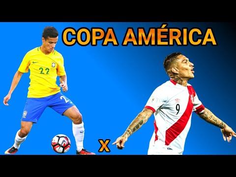 Brasil X Peru Como Assistir Ao Vivo Copa America Youtube