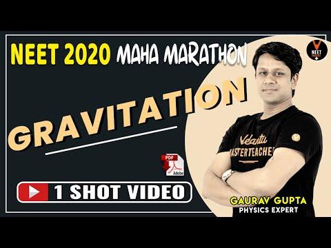 gravitation-class-11- -maha-marathon- -crash-course-neet-2020-preparation- -neet-physics- gaurav-sir