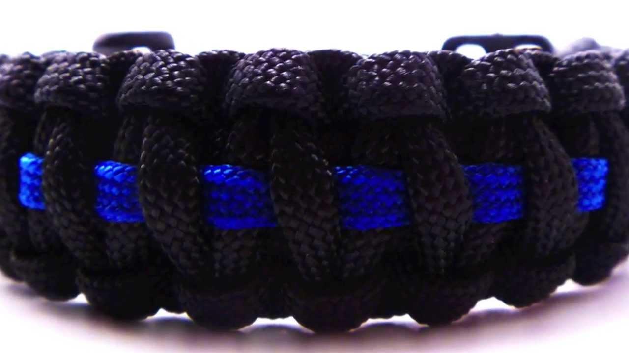 Standard Paracord Survival Bracelet With