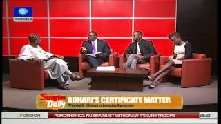 Pardon Buhari Even If He Doesn't Know Where He Kept Certificates- Lai Mohammed Pt.2