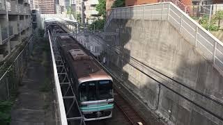 【なんぼくせん】東京メトロ南北線 9000系@東急目黒線 不動前駅