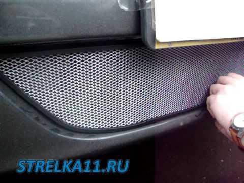 Защитная сетка радиатора своими руками логан 932