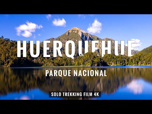 HUERQUEHUE: Trekking 17 Kms en Parque Nacional Pucón - Chile