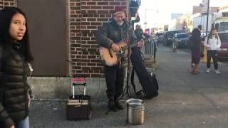 4 Non Blondes - What's Up (Cover) Amazing NYC Street Busker.